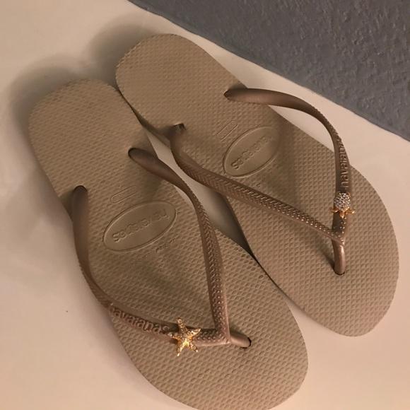 d5bb2476ea1a Havaianas Shoes - Havaianas Slim Embellished Rhinestone Flip flops